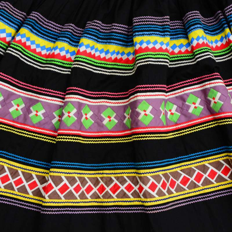 Seminole patchwork skirt